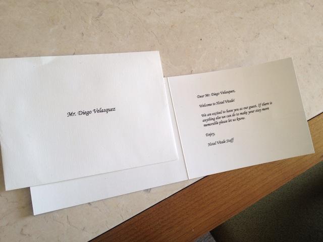 Hotel Vitale Card