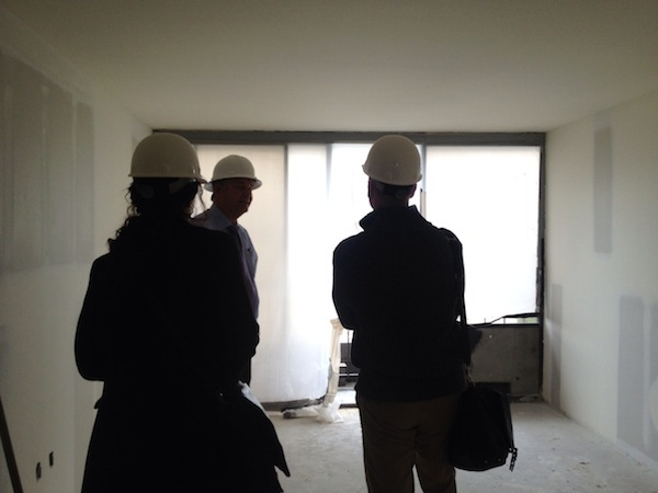 Inside the new hotel